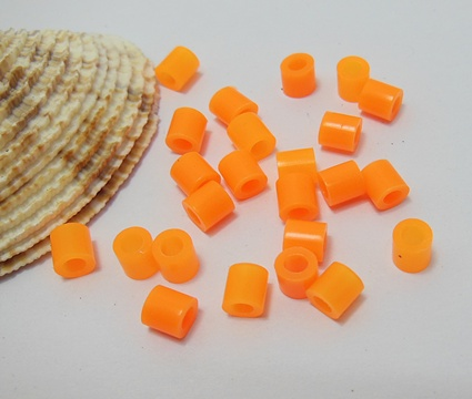 4200Pcs (250g) Craft Hama Beads Pearler Beads 5mm - Orange